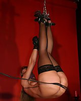 Suspension whipping punishment