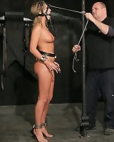 Cute Jaelyn becomes hardcore bondage slave!