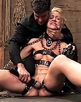 Slave girl trained to fuck