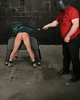 Pain slut submits to Master!